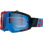 FOX AIR DEFEND GOGGLE LIBRA BLUE/RED [BLUE SPARK LENSE]