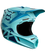 FOX V3 SECA LIMITED EDITION ICE BLUE HELMET