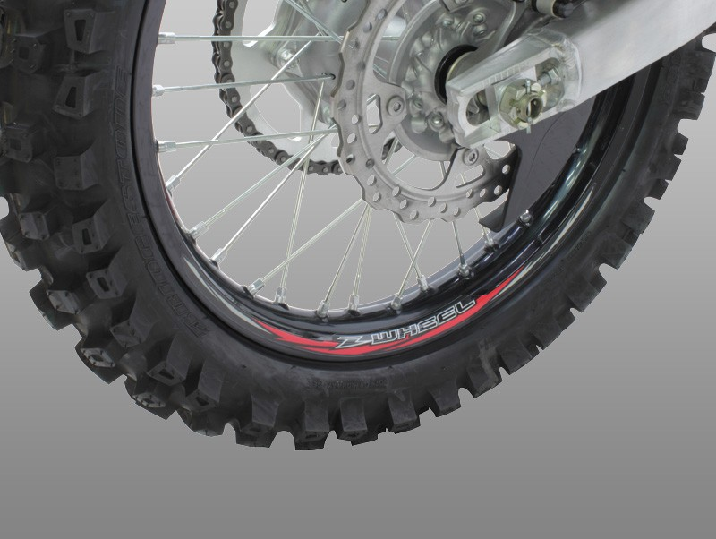 ล้อ Z-WHEEL RIM STICKER KIT 21inch/17-19inch