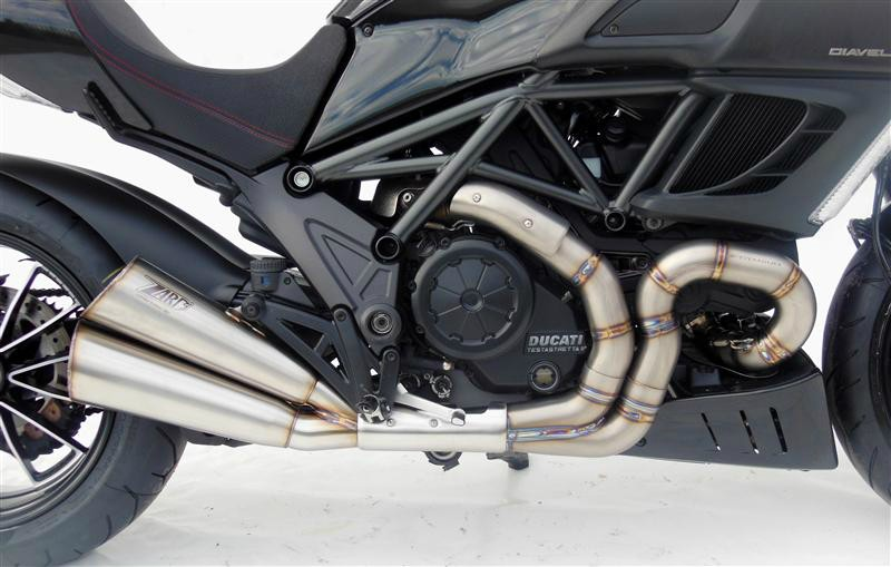 ZARD EXHAUST SYSTEM DUCATI DIAVEL LIMITED EDITION
