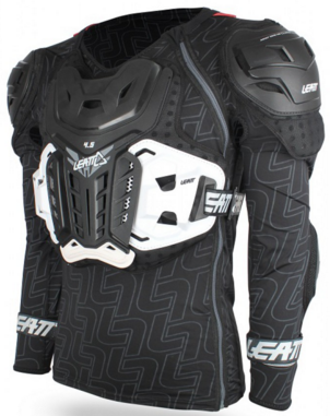 LEATT BRACE BODY PROTECTOR 4.5 BLACK
