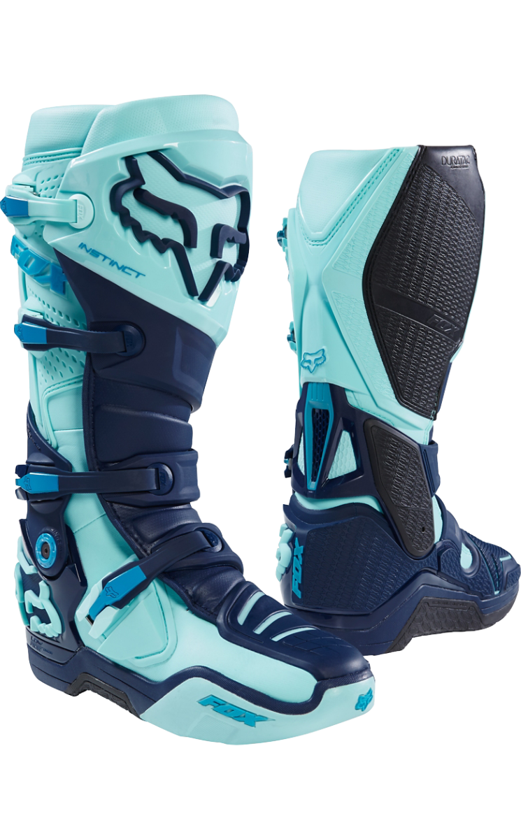 FOX INSTINCT BOOT SECA LIMITED EDTION ICE BLUE