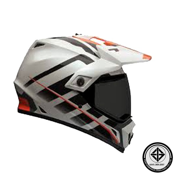 MX-9 ADVENTURE RAID ORANGE WHITE