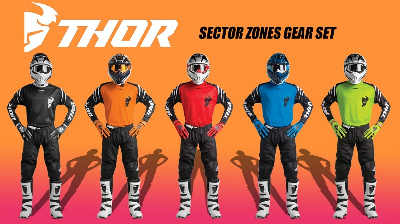 THOR SECTOR ZONE GEAR SET