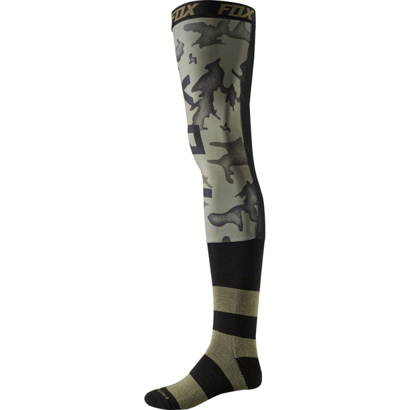 FOX PROFORMA KNEE BRACE SOCK - CAMO